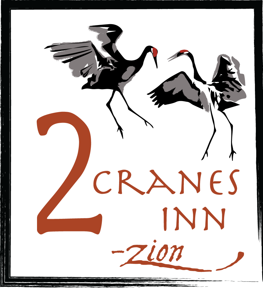 Two Cranes Inn - Zion logo